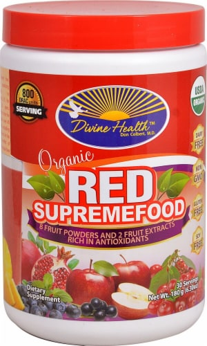 Divine Health  Organic Red SupremeFood Perspective: front