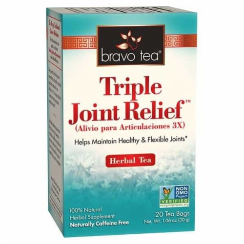 Bravo Teas and Herbs - Tea - Triple Joint Reief - 20 Bag Perspective: front