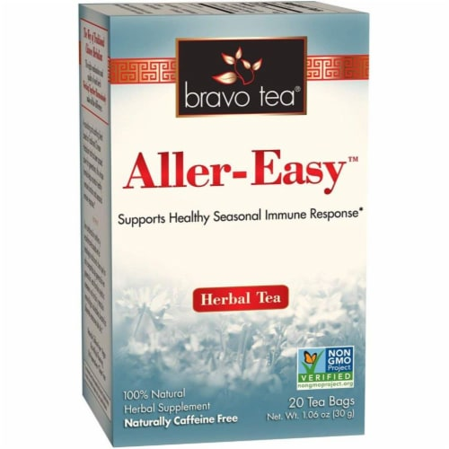 Bravo Teas and Herbs - Tea - Aller-easy - 20 Bag Perspective: front