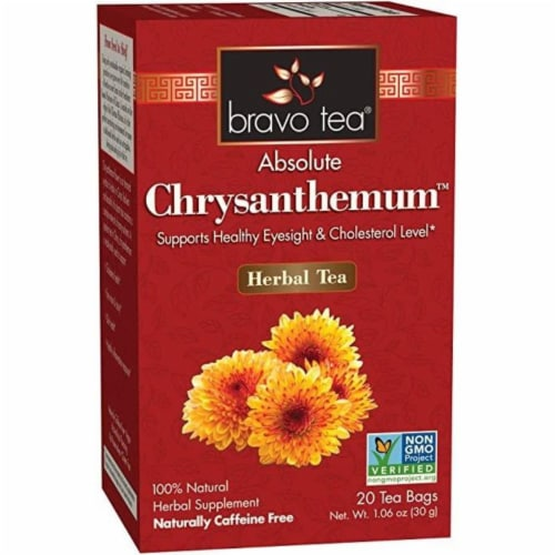 Bravo Teas and Herbs - Tea - Absolute Chrysanthemum - 20 Bag Perspective: front