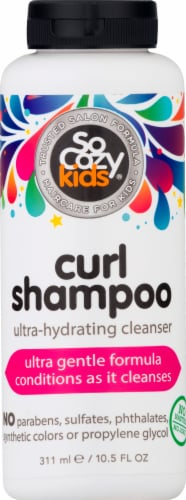 SoCozy Kids Curl Shampoo Perspective: front