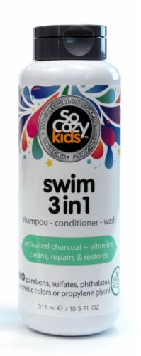 SoCozy Swim 3 in 1 Shampoo+Conditioner+Shampoo Perspective: front