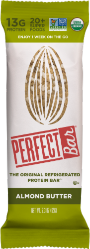 Perfect Bar Almond Butter Protein Bar Perspective: front