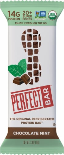 Chocolate Mint Perfect Bar Perspective: front