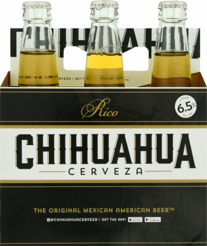 Chihuahua Cerveza Rico Lager Perspective: front
