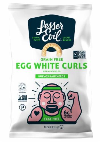 LesserEvil Grain Free Egg White Curls Perspective: front