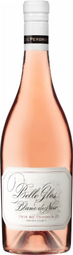 Belle Glos Pinot Noir Blanc Rose Perspective: front