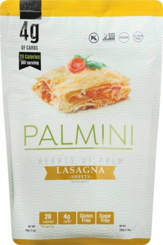 Palmini Hearts of Palm Lasagna Sheets Perspective: front