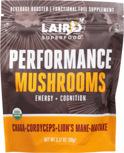 Laird Superfood Performance Mushrooms Beverage Booster Perspective: front