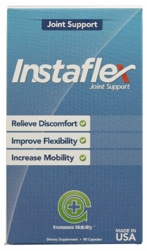 Instaflex Joint Support Capsules Perspective: front