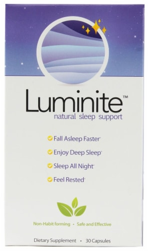 Luminite  Natural Sleep Support Perspective: front