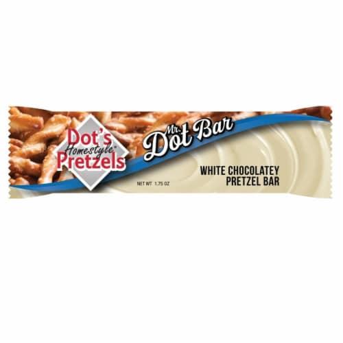Dot's Homestyle Pretzels White Chocolatey Pretzel Bar Perspective: front