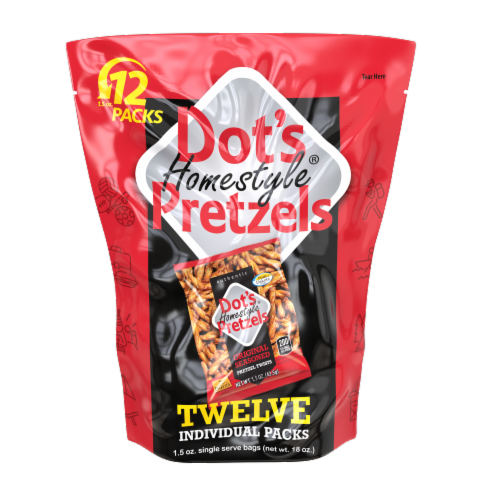Dot's Homestyle Pretzels Multi-Pack Perspective: front