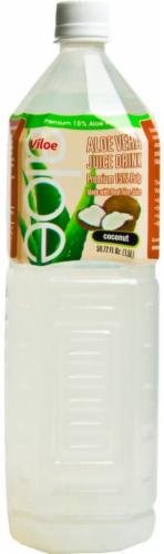 Viloe Coconut Flavored Aloe Vera Juice Drink Perspective: front