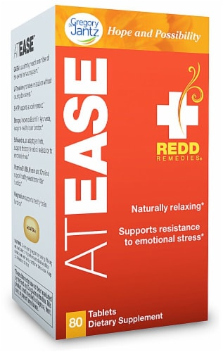 Redd Remedies At Ease Tablets Perspective: front