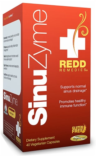 Redd Remedies  SinuZyme™ Perspective: front