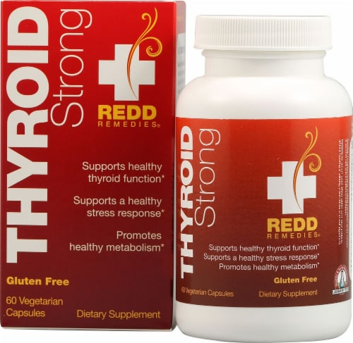 Redd Remedies  Thyroid Strong Perspective: front