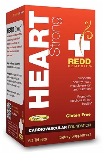 Redd Remedies  Heart Strong™ Perspective: front