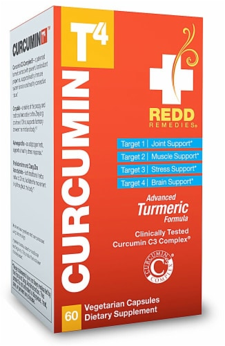 Redd Remedies  Curcumin T4™ Perspective: front