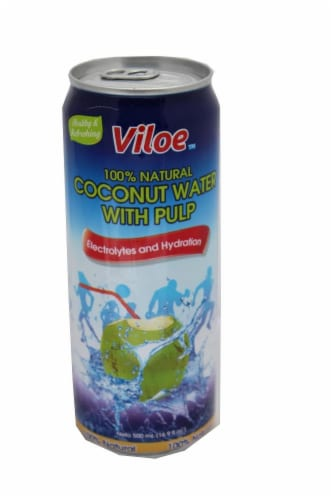 Viloe 100% Natural Coconut Water Perspective: front