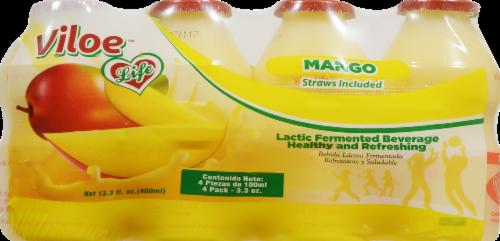 Viloe Life Mango Dairy Drinks Perspective: front