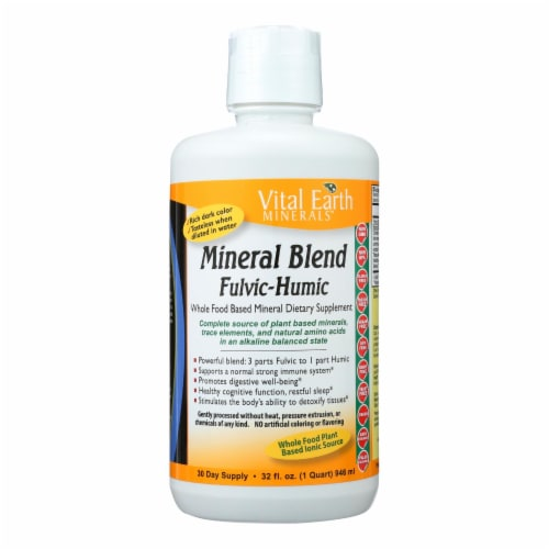 Vital Earth Fulvi-Humic Mineral Blend Perspective: front