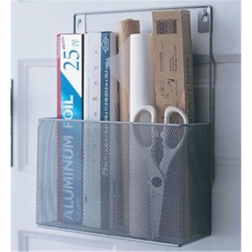 YBM Home 1154 Wall Mount Pantry Caddy Perspective: front