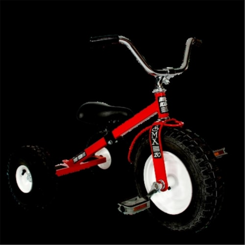 Dirt King DK-250-R Child Tricycle, Red Perspective: front