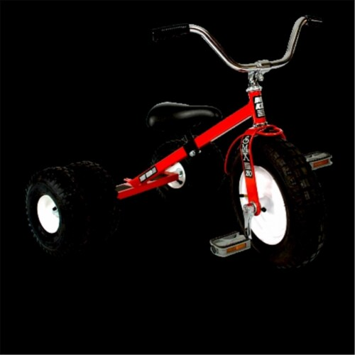 Dirt King DK-251-DR Child Dually Tricycle, Red Perspective: front