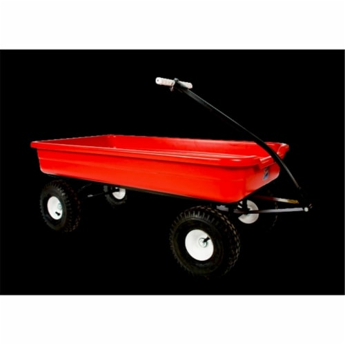 Dirt King CW-4-R Cruiser Wagon, Red Perspective: front