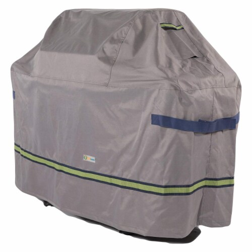 Duck Covers RBB532543 Soteria Grill Cover  Grey Perspective: front