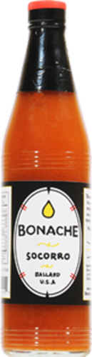 Bonache Socorro Hot Sauce Perspective: front