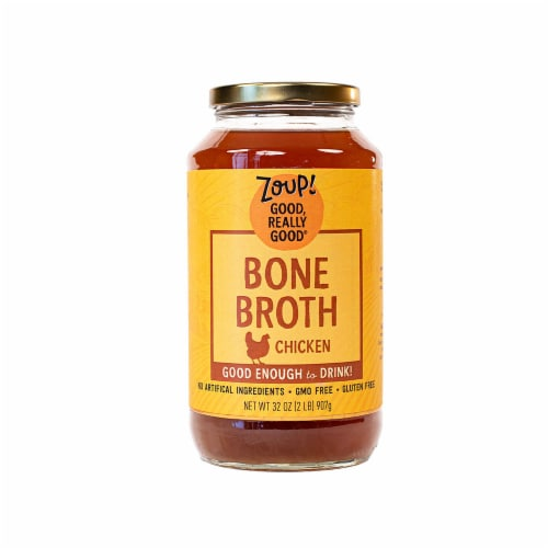 Zoup Good Really Good Chicken Bone Broth Perspective: front