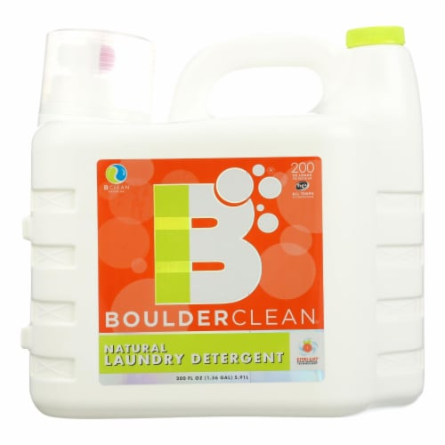 Boulder Clean Natural Laundry Detergent Perspective: front