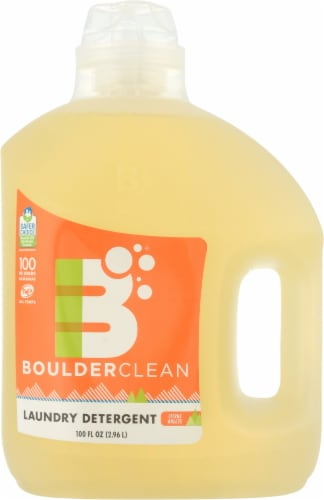 Boulder Clean Natural Liquid Laundry Detergent Perspective: front