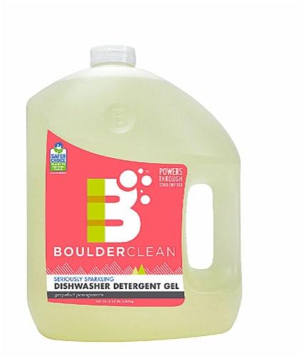 Boulder Clean  Seroiusly Sparkling Natural Dishwasher Detergent Gel Perspective: front