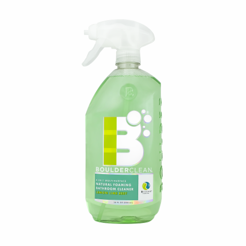 Boulderclean Natural Foaming Bathroom Cleaner Perspective: front