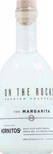 On The Rocks The Margarita Premium Cocktail Perspective: front