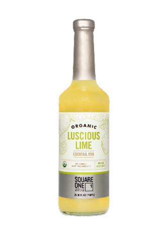 Square One Organic Spirits Luscious Lime Mixer Perspective: front