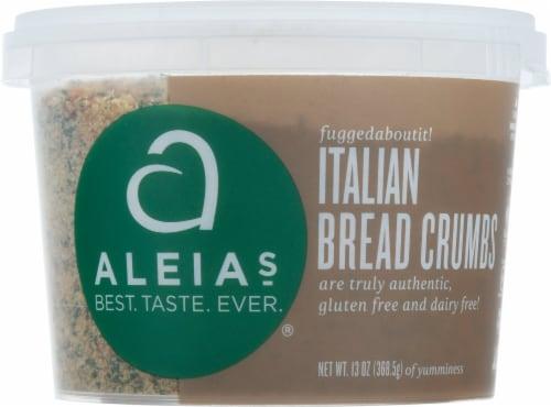 Aleia's Gluten Free Italian Bread Crumbs Perspective: front