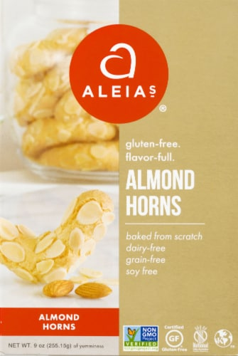 Aleia's Gluten Free Almond Horns Perspective: front