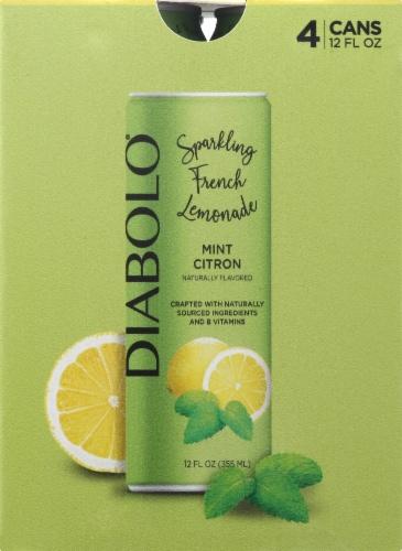 Diabolo Mint Citron Spakling French Lemonade Perspective: front