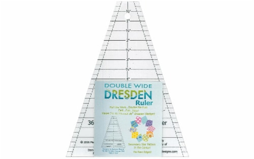Me And My Sister Double Wide Dresden Ruler Perspective: front