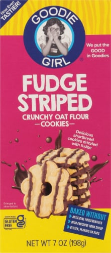 Goodie Girl Fudge Striped Cookies Perspective: front