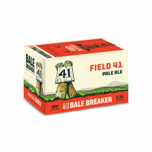Bale Breaker Brewing Co. Field 41 Pale Ale Beer Perspective: front