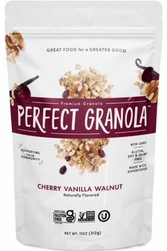 The Perfect Granola Cherry Vanilla Walnut Naturally Flavored Premium Granola Perspective: front