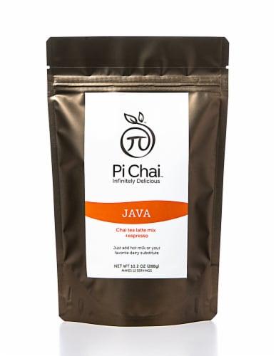 Pi Chai Java Chai Tea Latte Mix With Espresso Perspective: front