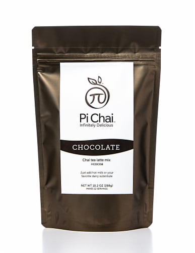 Pi Chai Chocolate Chai Tea Latte Mix With Cococa Perspective: front