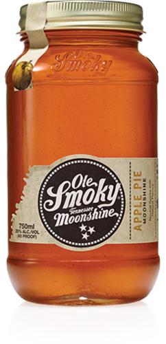 Ole Smoky Moonshine Apple Pie Perspective: front
