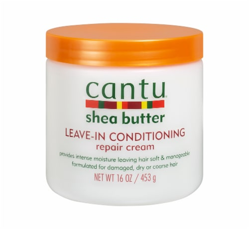 Cantu Shea Butter Leave-In Conditioning Repair Cream Perspective: front